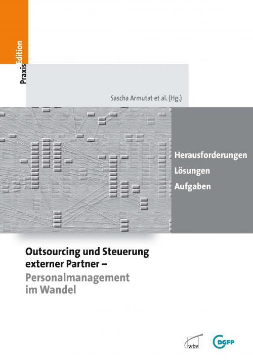 Outsourcing und Steuerung externer Partner - Personalmanagement im Wandel cover