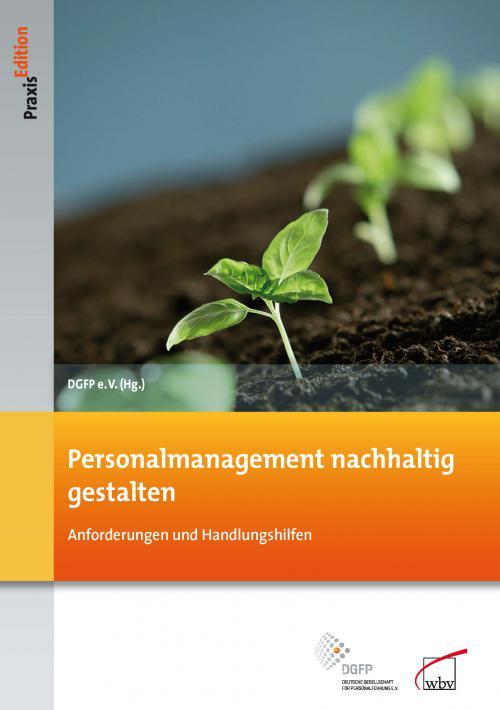 Personalmanagement nachhaltig gestalten cover