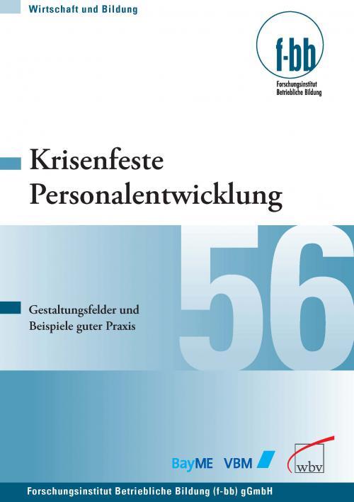 Krisenfeste Personalentwicklung cover