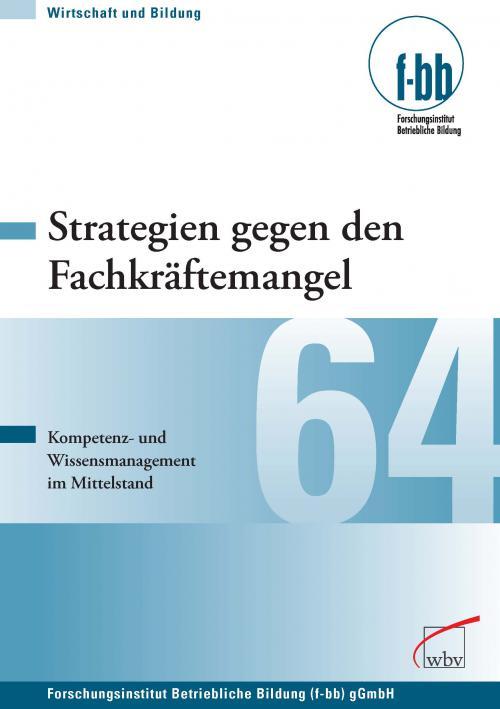Strategien gegen den Fachkräftemangel cover