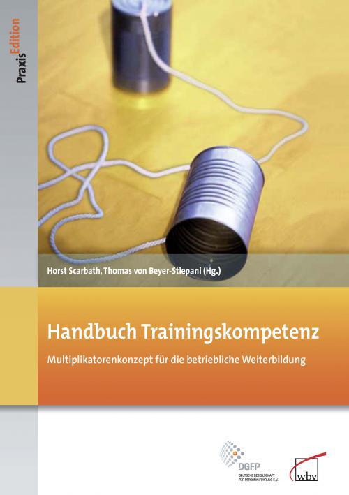 Handbuch Trainingskompetenz cover