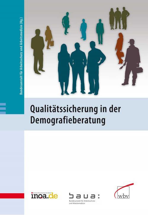Qualitätssicherung in der Demografieberatung cover