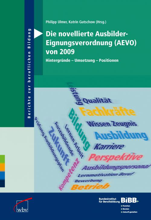 Die novellierte Ausbilder-Eignungsverordnung (AEVO) von 2009 cover