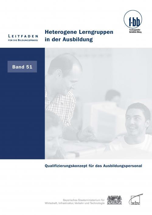 Heterogene Lerngruppen in der Ausbildung cover