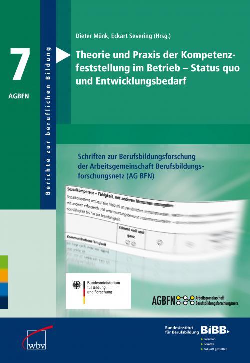 Theorie und Praxis der Kompetenzfeststellung im Betrieb - Status quo und Entwicklungsbedarf cover