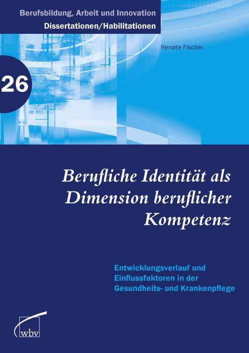 Berufliche Identität als Dimension beruflicher Kompetenz cover