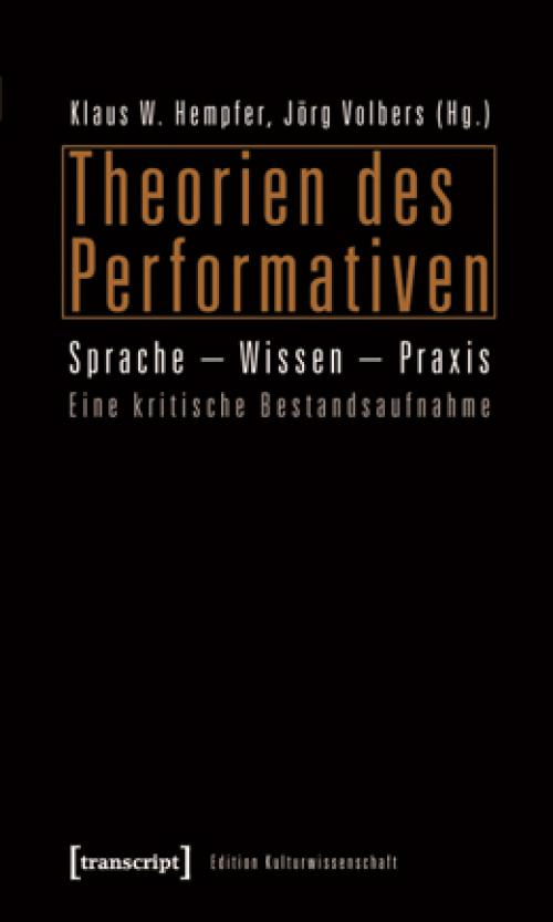 Theorien des Performativen cover
