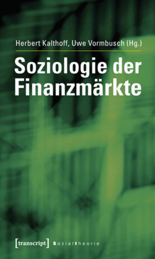 Soziologie der Finanzmärkte cover