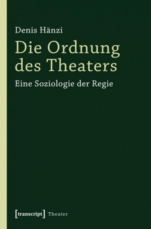 Die Ordnung des Theaters cover