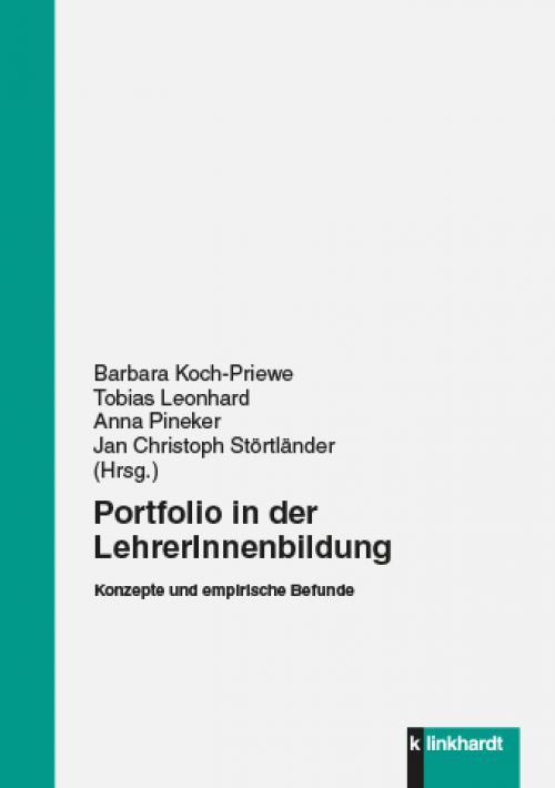 Portfolio in der LehrerInnenbildung cover