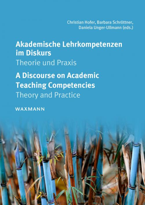 Akademische Lehrkompetenzen im Diskurs A Discourse on Academic Teaching Competencies cover