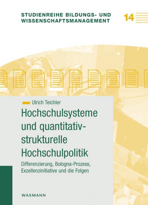 Hochschulsysteme und quantitativ-strukturelle Hochschulpolitik cover
