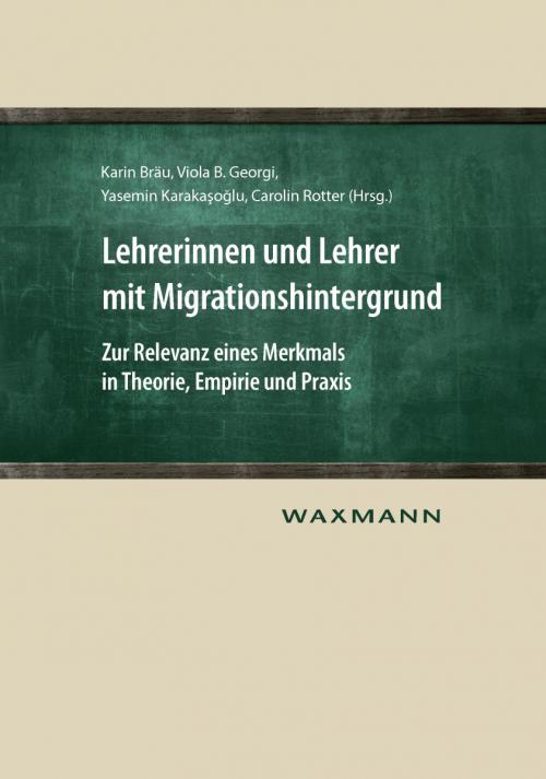 Lehrerinnen und Lehrer mit Migrationshintergrund cover