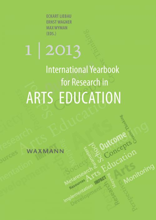 International Yearbook for Research in Arts Education 1/2013 cover