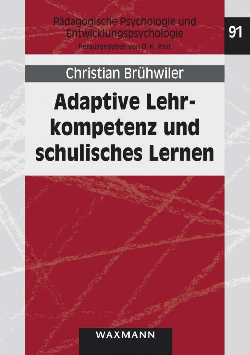 Adaptive Lehrkompetenz und schulisches Lernen cover