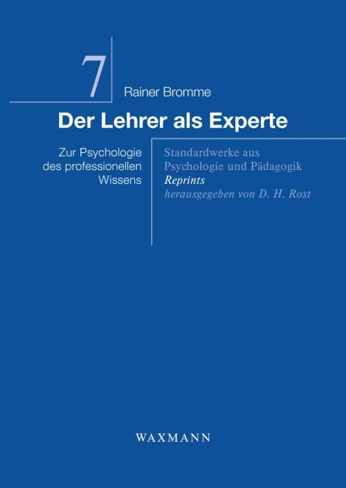 Der Lehrer als Experte cover