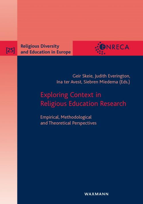 Exploring Context in Religious Education Research cover