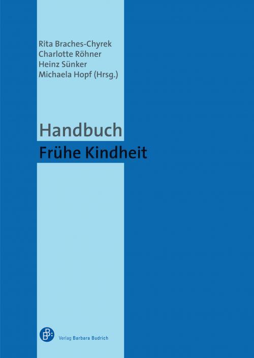 Handbuch frühe Kindheit cover