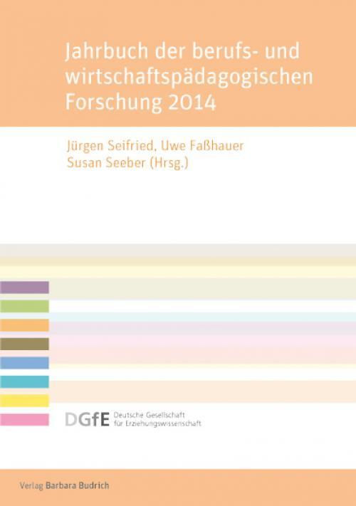 Jahrbuch der berufs- und wirtschaftspädagogischen Forschung 2014 cover
