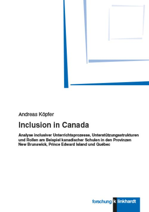 Inclusion in Canada cover