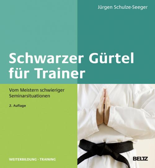 Schwarzer Gürtel für Trainer cover