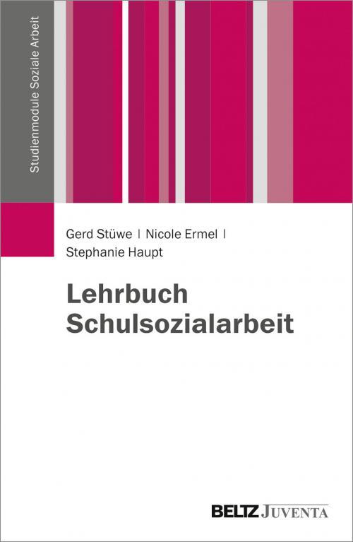 Lehrbuch Schulsozialarbeit cover