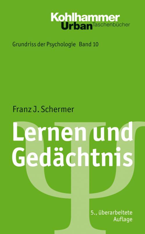Lernen und Gedächtnis cover
