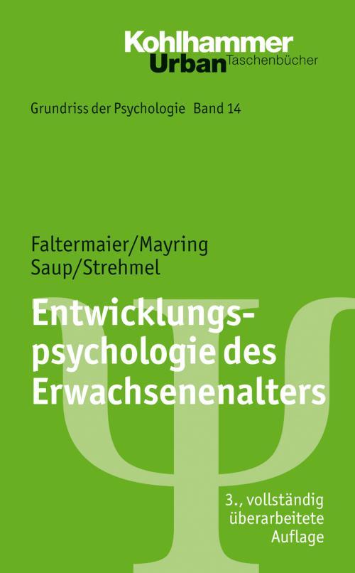 Entwicklungspsychologie des Erwachsenenalters cover