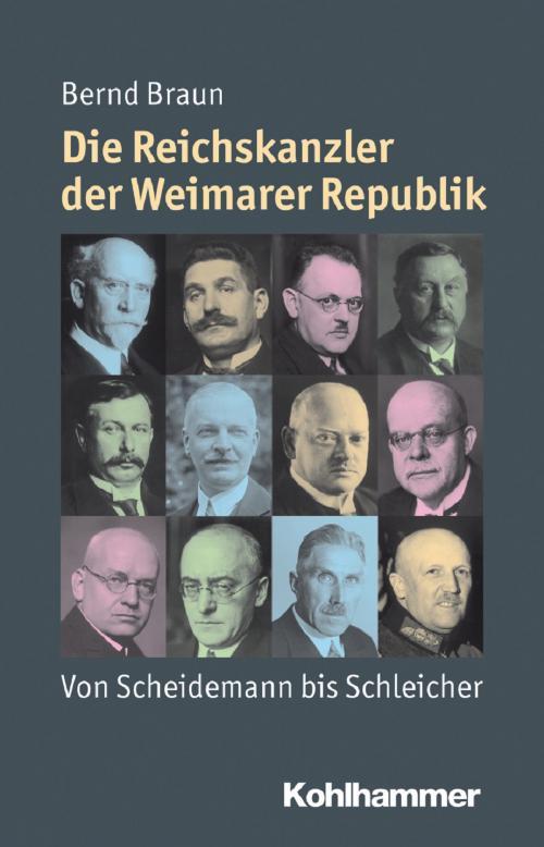 Die Reichskanzler der Weimarer Republik cover