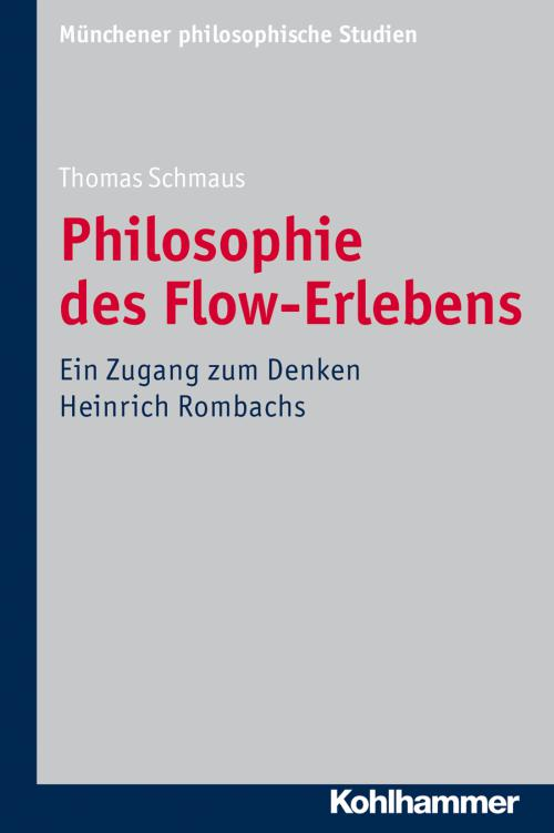 Philosophie des Flow-Erlebens MPS Band 30 cover