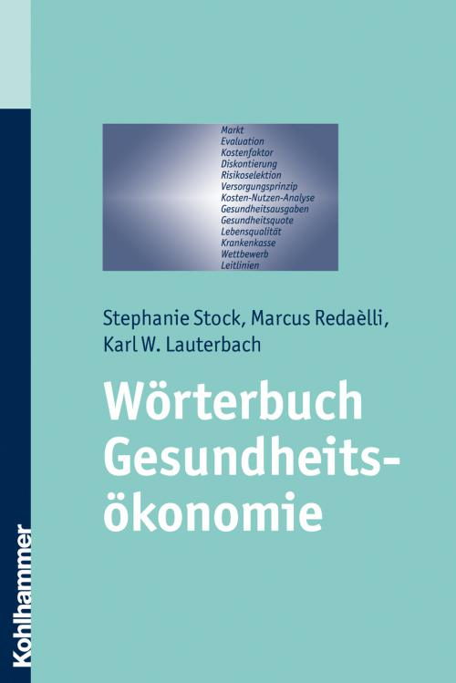 Wörterbuch Gesundheitsökonomie cover