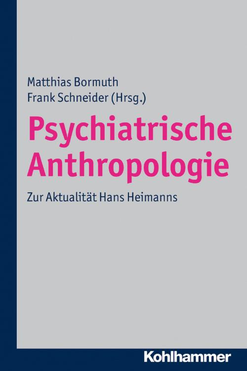 Psychiatrische Anthropologie cover