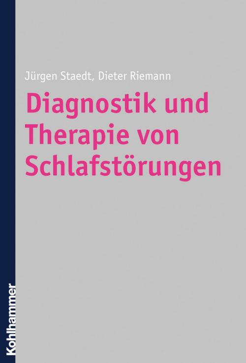 Diagnostik und Therapie von Schlafstörungen cover