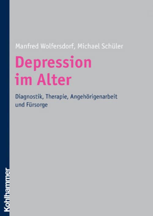 Depressionen im Alter cover