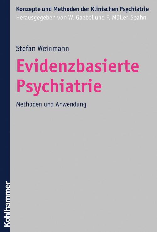 Evidenzbasierte Psychiatrie cover