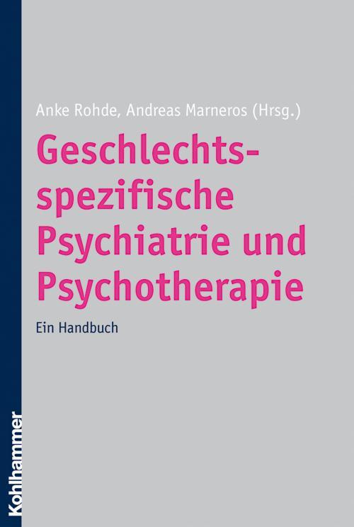 Geschlechtsspezifische Psychiatrie und Psychotherapie cover