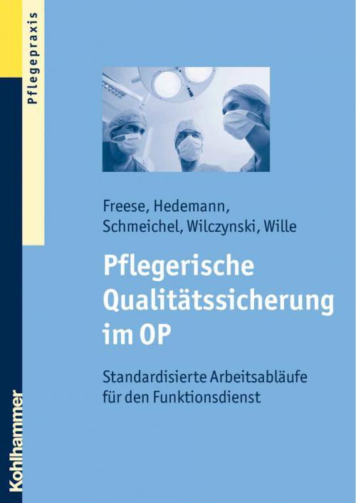 Pflegerische Qualitätssicherung im OP cover