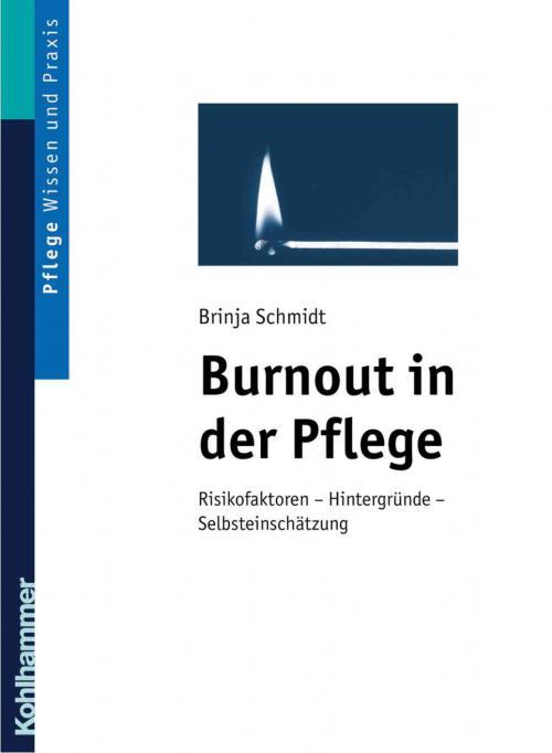 Burnout in der Pflege cover