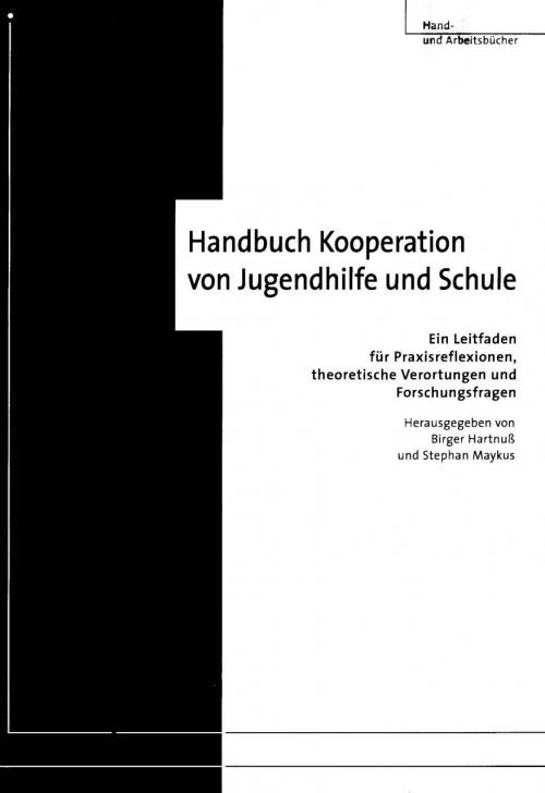 Handbuch Kooperation von Jugendhilfe und Schule cover