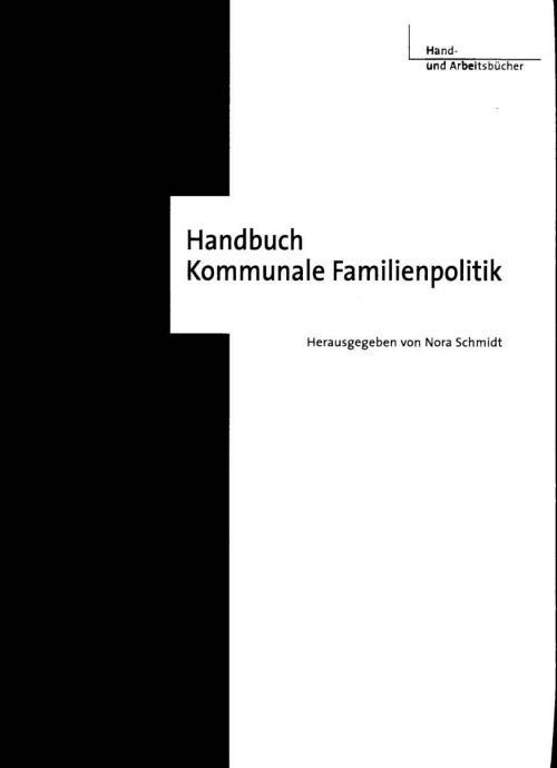 Handbuch Kommunale Familienpolitik cover