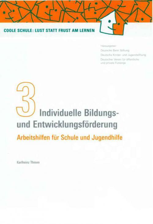 Individuelle Bildungs- und Entwicklungsförderung cover