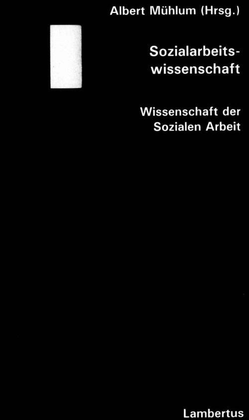 Sozialarbeitswissenschaft cover
