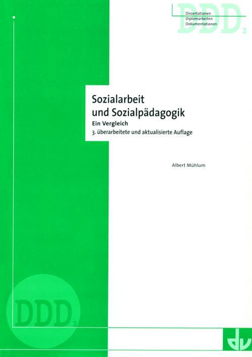 Sozialpädagogik und Sozialarbeit cover
