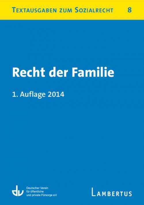 Recht der Familie cover