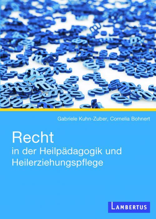 Recht in der Heilpädagogik und Heilerziehungspflege cover