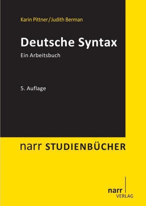 Deutsche Syntax cover