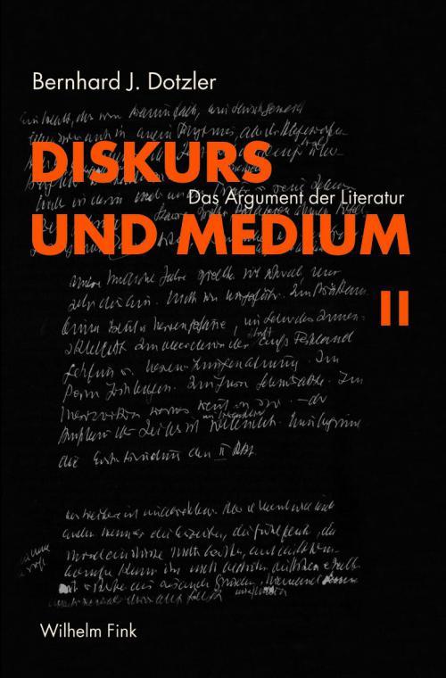Diskurs und Medium II cover