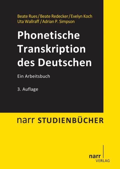 Phonetische Transkription des Deutschen cover