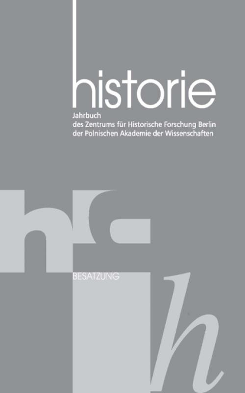 Historie Jahrbuch 7 2014: Polen im 2. Weltkrieg cover