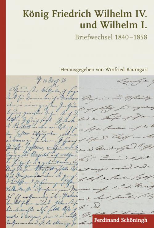 König Friedrich Wilhelm IV. und Wilhelm I. cover